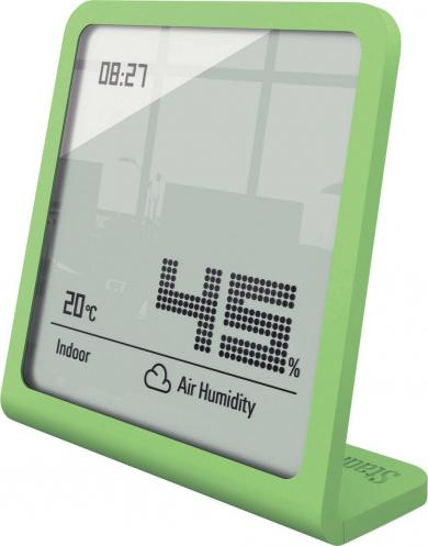 Termohigrometru digital Selina, verde, Stadler Form