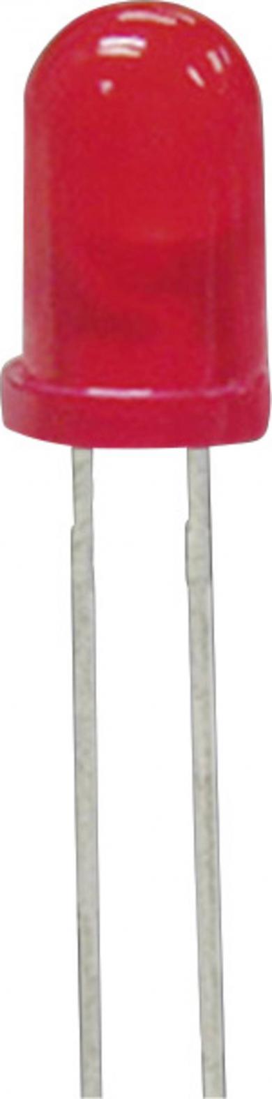 Led ultra-luminos 5 mm L 53 SRD/C, roşu