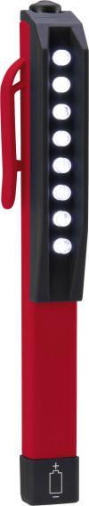 Lampă de lucru led tip creion Toolcraft, 8 leduri, IP64