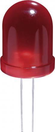Jumbo-Led 10 mm JL 10, roşu