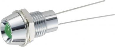 Lampă de semnalizare R9-104L-12, led 5 mm, alb
