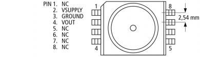 Senzor de presiune SMD MPXA4100A6U