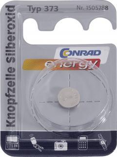 Baterie buton oxid de argint 373, 1.55 V, 29 mAh, Conrad energy SR68