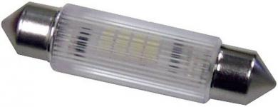 Bec sofit cu led 4 cipuri Signal Construct MSOG114364, alb
