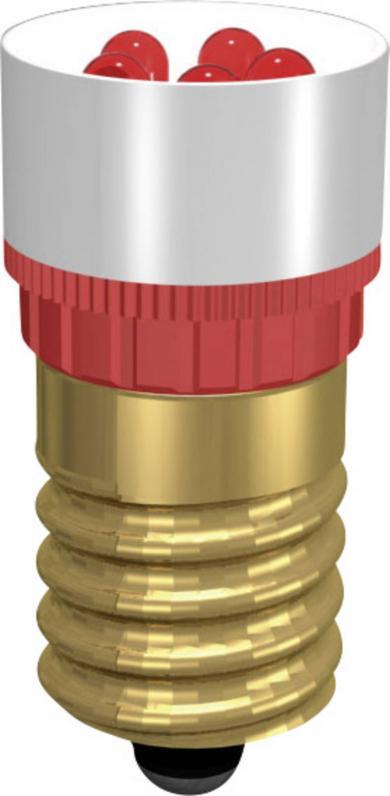 Lampă cu led Cluster Signal Construct, soclu E14, 1,2 W, roșu