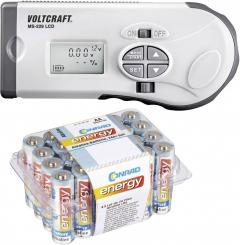 Set tester baterii Voltcraft MS-229 LCD + 24 baterii AA Conrad energy