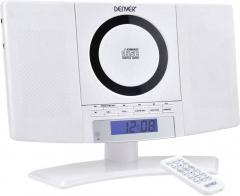 Sistem audio stereo Denver MC-5220 AUX, CD, FM, alb
