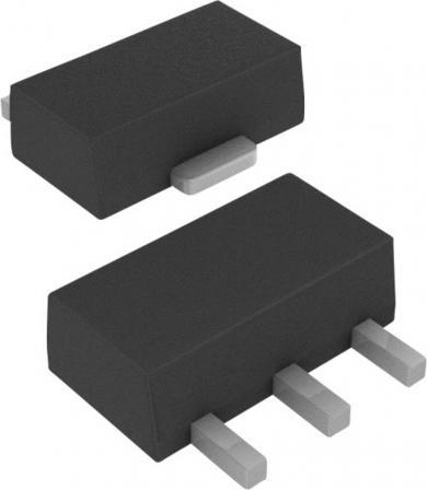 Tranzistor bipolar Infineon BCV 29 NPN, carcasă SOT 89, I(C) 0.5 A