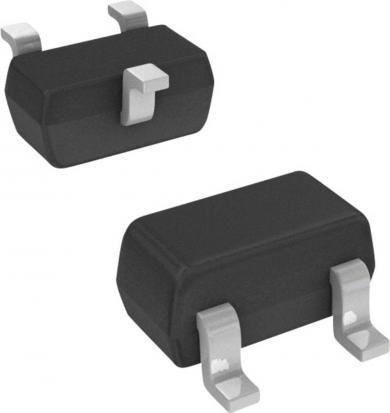 Tranzistor bipolar Infineon BC 808-25 W PNP, carcasă SOT 323, I(C) 0.5 A