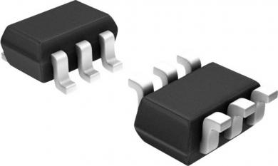 Tranzistor bipolar Infineon BCR 22 PN NPN / PNP, carcasă SOT 363, I(C) 100 mA