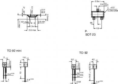 Senzor PTC Infineon seria KT 130
