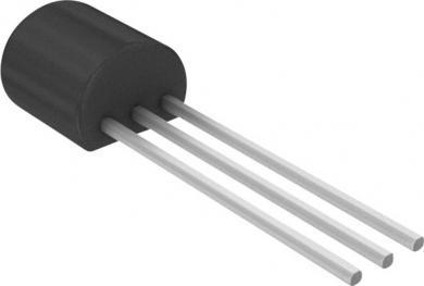 Tranzistor bipolar standard BC 557 B PNP, carcasă tip TO 92, I(C) 0.2 A