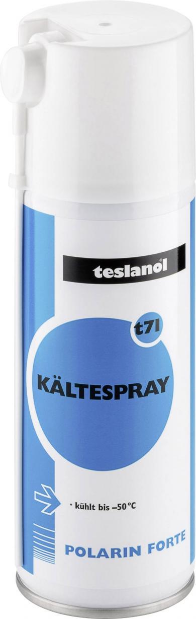 Spray cu agent de răcire teslanol t71, -50 °C, 200 ml