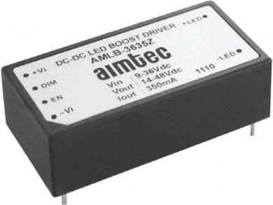 Circuit integrat driver led pentru leduri high power Aimtec AMLD-36120IZ