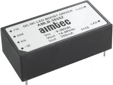 Circuit integrat driver led pentru leduri high power Aimtec AMLD-36100IZ