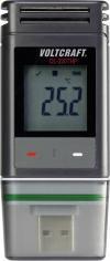 Data logger temperatură, umiditate și presiune atmosferică Voltcraft DL-220THP, calibrat ISO