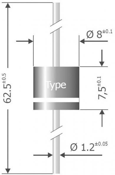 Diodă standard Semikron Serie P 1000 K