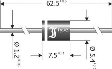 Diodă redresoare Diotec SB1250