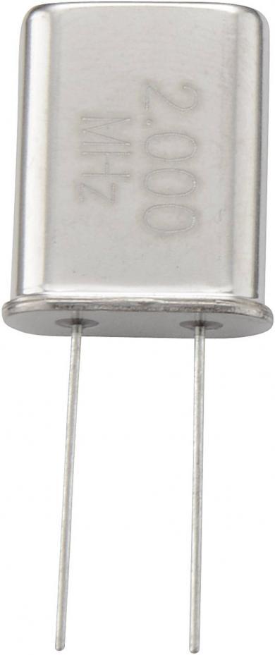 Cuarț HC-18U/49U, 22 MHz, (l x Î) 11,4 x 13,46 mm