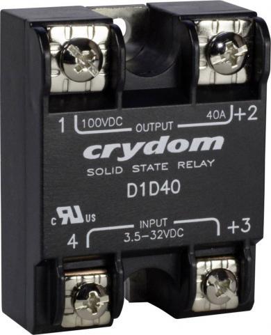 Releu electronic Crydom D1D20 cu ieşire DC, serie 1-DC