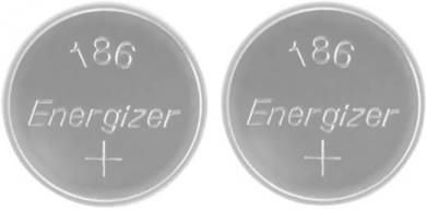 Set 2 baterii buton alcaline LR54, 1.5 V, 80 mAh, Energizer