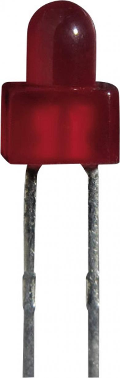 Led clipitor L-616 BSRD/B, roşu-intens
