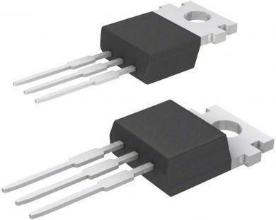Regulator de tensiune fixă, pozitivă, TO-220, 2 A, 5 V, STMicroelectronics L78S05CV