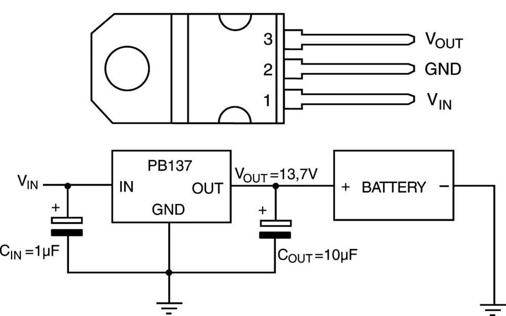 circuite integrate liniare power management ldo regulator