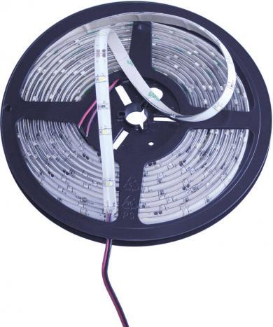 Benzi luminoase led autoadezive, 5 m, 150 leduri, 12 V/DC, alb rece