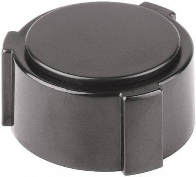 Capac Mentor pentru buton Ø 28 mm, negru