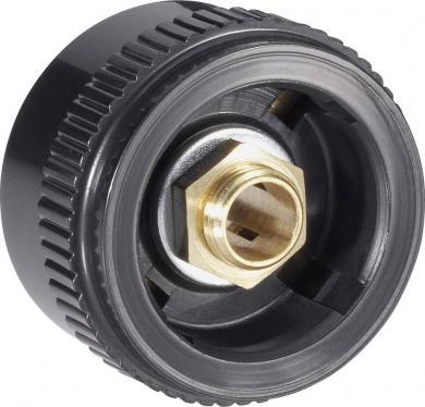 Buton Mentor seria 20, buton pentru seria 28, negru, diametrul axei 6 mm