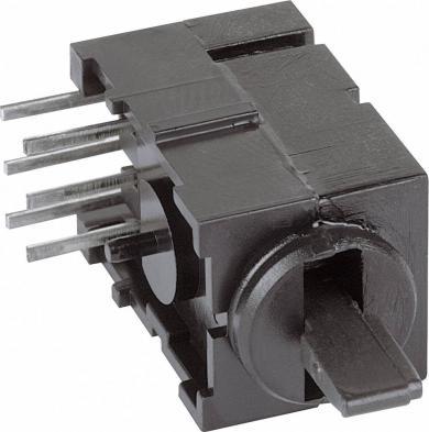 Întrerupător basculant FEL THT Mentor THT 1847.3032 2 x ON/OFF/ON 60 V/AC/DC 0,5 A