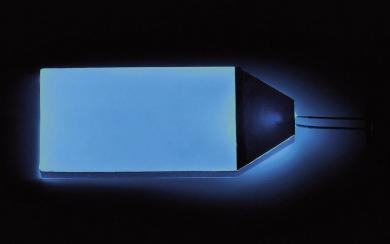 Sistem de iluminare cu led pentru LCD, albastru, 51x32 mm
