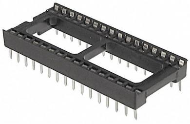 Soclu circuit integrat, 16 pini, distanţă între contacte 7,62 mm, Assmann WSW A 16-LC-TT