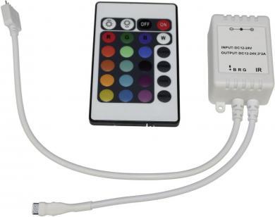Controller RGB cu telecomandă IR