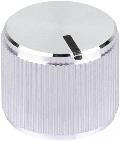 Buton metalic de înaltă calitate Mentor, Ø ax 6 mm, tip 5551.6612