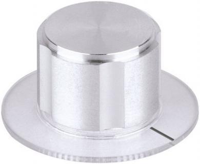 Buton metalic de înaltă calitate Mentor, Ø ax 6 mm, tip 5572.6110