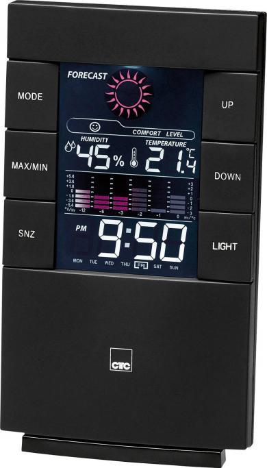 Staţie meteo portabilă cu ceas CTC WSU 7024