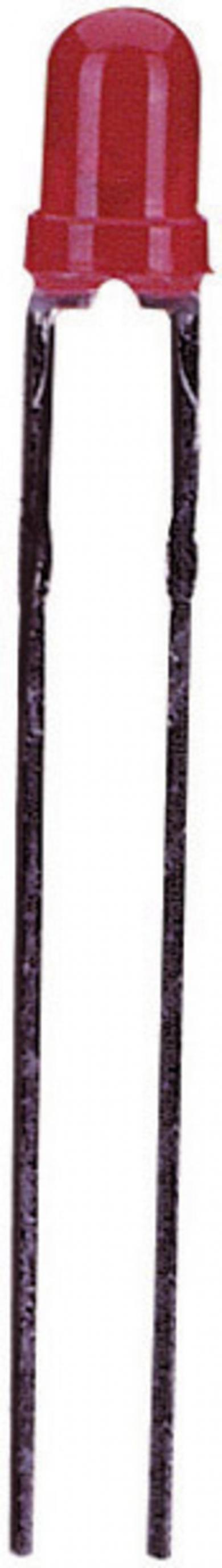 Led 3 mm, L 934 YD, galben, 45º, 15 mcd