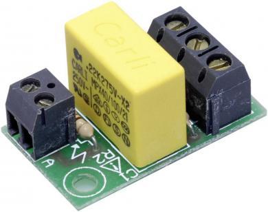 Modul de comandă pentru led, tensiune de operare 230 V/AC, I(F) cca. 15 mA