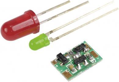 Micro-sursă de alimentare constantă, 12 – 15 mA, tensiune de operare 4 – 30 V/DC, I(F) cca. 15 mA