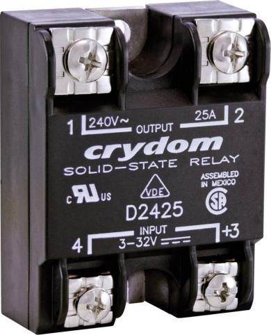 Releu electronic, seria HD48, Crydom HD48125, curent de sarcină 125 A, tensiune de comutare 48 – 530 V/AC