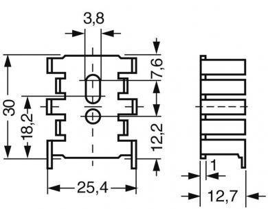 Radiator Fischer Elektronik FK 216/SA-CB