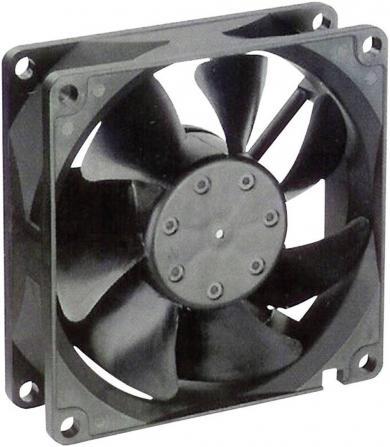 Ventilator axial 12 V/DC, 66 m³/h, 80 x 80 x 25 mm, NMB Minebea 3110KL-04W-B50
