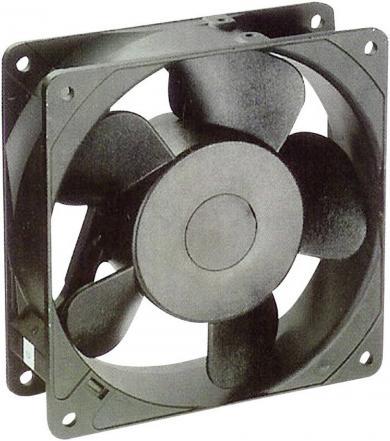 Ventilator axial 230 V/AC, 174 m³/h, 119 x 119 x 38 mm, NMB Minebea 4715MS-23T-B5A