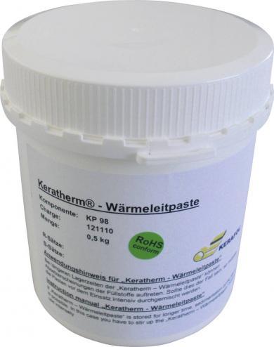 Pastă termoconductoare KP98, 500 g, conductibilitate termică 6W/mK
