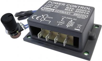 Regulator de putere 110 - 240 V/AC, 4000 VA