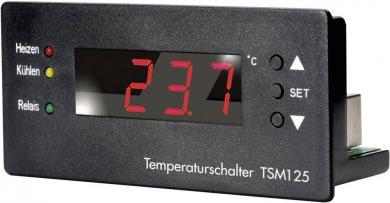 Termostat încastrabil H-Tronic, 10 - 15 V/DC, domeniu de temperatură de la -55 la +125 ˚C