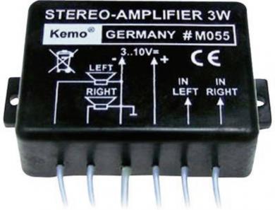 Amplificator universal stereo 2 x 1,5 W