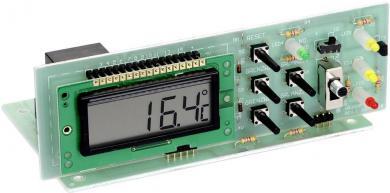 Set de asamblare modul de comutare temperatură LCD Conrad, 230 V/AC, interval de reglare temperatură (ºC) -5 până la +50 ºC